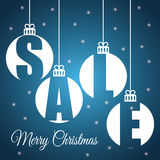 Shopping christmas offers and discounts season Stock Image