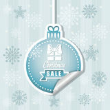 Shopping christmas offers and discounts season Royalty Free Stock Image