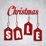 Shopping christmas offers and discounts season Royalty Free Stock Images