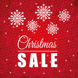 Shopping christmas offers and discounts season Royalty Free Stock Photo