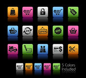 Shopping // Colorbox Series Stock Image
