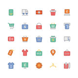 Shopping Colored Vector Icons 8 Stock Image