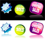 Shopping Colorful Marks Royalty Free Stock Photo