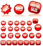 Shopping Colorful Marks Stock Photos