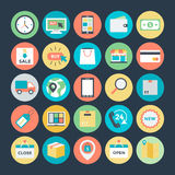 Shopping and Commerce Vector Icons 1 Royalty Free Stock Photography