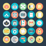 Shopping and Commerce Vector Icons 4 Stock Images