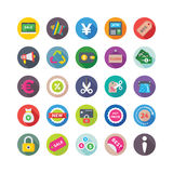 Shopping and Commerce Vector Icons 8 Stock Photos