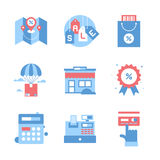 Shopping and Commerce Stock Photography