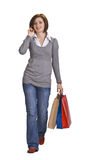 Shopping communication Royalty Free Stock Photo
