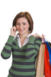 Shopping communication Stock Photos