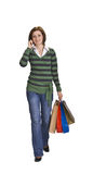Shopping communication Stock Image