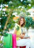 Shopping communication Stock Photo