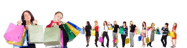Shopping concept Stock Photography