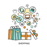Shopping concept Stock Image