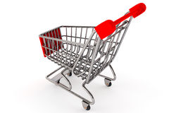 Shopping Concept. Shopping Cart Stock Image