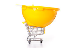 Shopping for construction Stock Photography