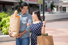 After shopping Stock Image