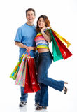 Shopping couple Royalty Free Stock Image