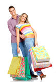 Shopping couple Royalty Free Stock Photography