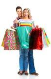Shopping  couple Stock Photography