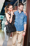Shopping couple. Stock Photography