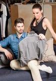 Shopping couple. Stock Images