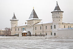 The shopping courtyard in the Tobolsk Kremlin Royalty Free Stock Photo