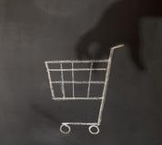 Shopping crime Stock Photography