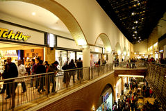SHOPPING CROWD Stock Images