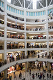 Shopping Crowd Royalty Free Stock Images