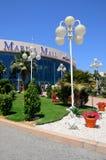 Shopping da alameda de Abu Dhabi Marina Fotos de Stock Royalty Free