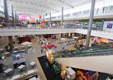 Shopping da cidade da manutenção programada em Clark Fotos de Stock