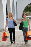 Shopping day Royalty Free Stock Image