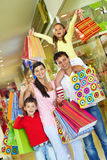 Shopping day Royalty Free Stock Photo