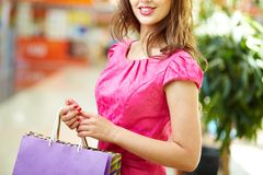 Shopping day Royalty Free Stock Photography