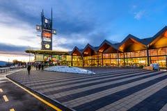 Shopping de Coresi, Brasov, Romênia Imagem de Stock Royalty Free