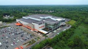 Shopping de leitura video aéreo de Massachusetts vídeos de arquivo
