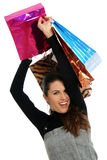 Shopping delight Stock Image