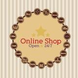 Shopping desig Royalty Free Stock Photos