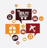 Shopping design Stock Image