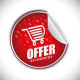 Shopping design. Royalty Free Stock Photography