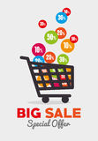 Shopping design. Stock Images