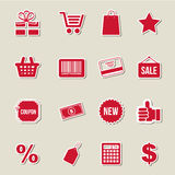 Shopping design Royalty Free Stock Photo