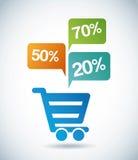 Shopping design Royalty Free Stock Photo