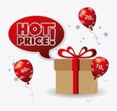 Shopping design. Royalty Free Stock Image