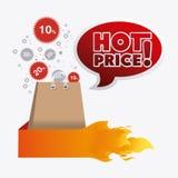 Shopping design. Royalty Free Stock Photo