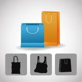 Shopping design. Shopping bag icon. sale concept Royalty Free Stock Photography