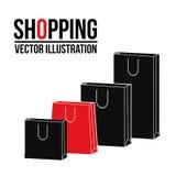 Shopping design. Shopping bag icon. sale concept Royalty Free Stock Image
