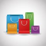 Shopping design. Shopping bag icon. sale concept Stock Photography
