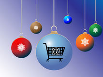 Shopping di festa Fotografia Stock Libera da Diritti